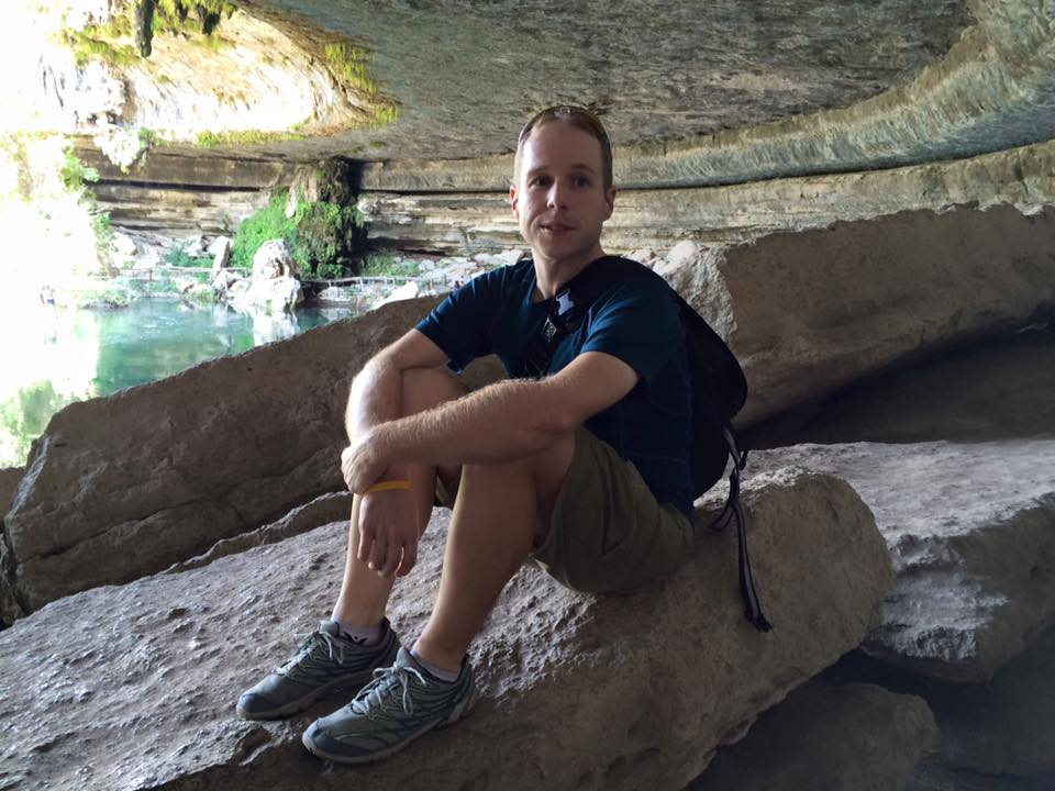 Relaxing at Hamilton Pool (2015)